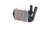 Chłodnica powietrza doładowującego - intercooler AKS DASIS 087001N AKS DASIS 087001N