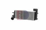Chłodnica powietrza doładowującego - intercooler AKS DASIS 097013N AKS DASIS 097013N