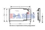 Chłodnica klimatyzacji - skraplacz AKS DASIS 112004N AKS DASIS 112004N