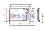 Chłodnica klimatyzacji - skraplacz AKS DASIS 112030N AKS DASIS 112030N