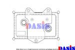 Chłodnica oleju silnikowego AKS DASIS 126420N AKS DASIS 126420N