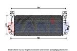 Chłodnica powietrza doładowującego - intercooler AKS DASIS 157034N AKS DASIS 157034N