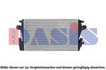Chłodnica powietrza doładowującego - intercooler AKS DASIS 157053N AKS DASIS 157053N