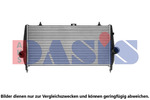Chłodnica powietrza doładowującego - intercooler AKS DASIS 167014N AKS DASIS 167014N