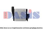 Chłodnica powietrza doładowującego - intercooler AKS DASIS 167021N AKS DASIS 167021N
