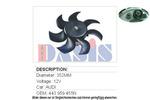 Wentylator chłodnicy silnika AKS DASIS 488010N AKS DASIS 488010N