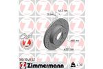 Tarcza hamulcowa ZIMMERMANN 100.1048.52