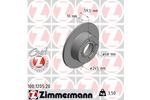 Tarcza hamulcowa ZIMMERMANN 100.1205.20