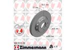 Tarcza hamulcowa ZIMMERMANN 100.1222.20