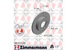 Tarcza hamulcowa ZIMMERMANN 100.1223.20