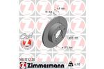 Tarcza hamulcowa ZIMMERMANN 100.1232.20 ZIMMERMANN 100.1232.20