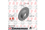Tarcza hamulcowa ZIMMERMANN 100.1237.20