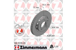 Tarcza hamulcowa ZIMMERMANN 100.1239.20