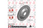 Tarcza hamulcowa ZIMMERMANN 100.3353.75
