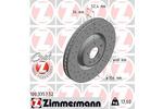 Tarcza hamulcowa ZIMMERMANN 100.3357.52
