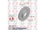 Tarcza hamulcowa ZIMMERMANN 100.1204.52