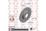 Tarcza hamulcowa ZIMMERMANN 110.2221.20