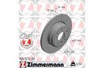 Tarcza hamulcowa ZIMMERMANN 150.1272.20