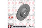 Tarcza hamulcowa ZIMMERMANN 150.2901.52