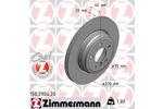 Tarcza hamulcowa ZIMMERMANN 150.2904.20