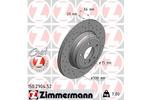 Tarcza hamulcowa ZIMMERMANN 150.2904.52