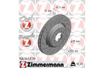 Tarcza hamulcowa ZIMMERMANN 150.3457.70