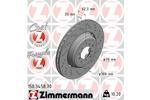 Tarcza hamulcowa ZIMMERMANN 150.3458.70