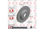 Tarcza hamulcowa ZIMMERMANN 150.3459.70