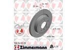Tarcza hamulcowa ZIMMERMANN 150.3492.20
