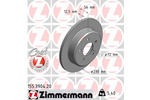 Tarcza hamulcowa ZIMMERMANN 155.3904.20