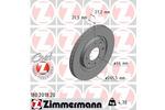Tarcza hamulcowa ZIMMERMANN 180.2018.20
