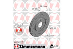 Tarcza hamulcowa ZIMMERMANN 180.3012.52