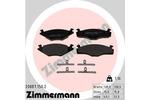 Klocki hamulcowe - komplet ZIMMERMANN 20887.150.2