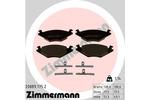 Klocki hamulcowe - komplet ZIMMERMANN 20889.175.2