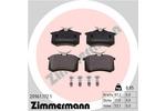 Klocki hamulcowe - komplet ZIMMERMANN  20961.172.1