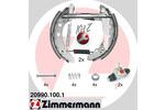 Szczęki hamulcowe - komplet ZIMMERMANN KIT Z 20990.100.1