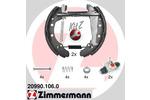 Szczęki hamulcowe - komplet ZIMMERMANN  20990.106.0