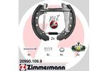 Szczęki hamulcowe - komplet ZIMMERMANN KIT Z 20990.109.9