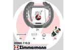 Szczęki hamulcowe - komplet ZIMMERMANN KIT Z 20990.110.9