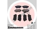 Klocki hamulcowe - komplet ZIMMERMANN 21479.190.2