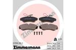 Klocki hamulcowe - komplet ZIMMERMANN  21799.195.1