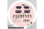 Klocki hamulcowe - komplet ZIMMERMANN 23224.165.3