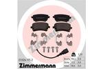 Klocki hamulcowe - komplet ZIMMERMANN 23326.175.2