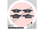 Klocki hamulcowe - komplet ZIMMERMANN 23334.165.1 ZIMMERMANN 23334.165.1