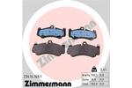 Klocki hamulcowe - komplet ZIMMERMANN 23414.168.1 ZIMMERMANN 23414.168.1