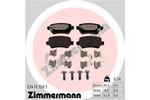 Klocki hamulcowe - komplet ZIMMERMANN  23417.150.1