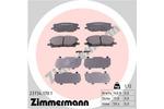 Klocki hamulcowe - komplet ZIMMERMANN  23734.170.1