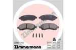 Klocki hamulcowe - komplet ZIMMERMANN  23780.170.1