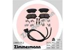 Klocki hamulcowe - komplet ZIMMERMANN 23883.175.2 ZIMMERMANN 23883.175.2