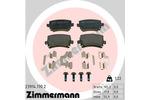 Klocki hamulcowe - komplet ZIMMERMANN 23914.170.2 ZIMMERMANN 23914.170.2